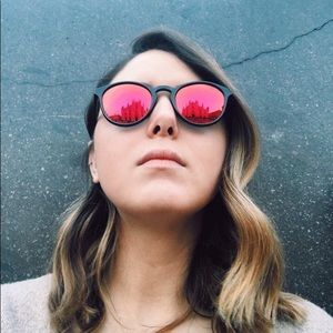 Polaroid Mirrored Sunglasses